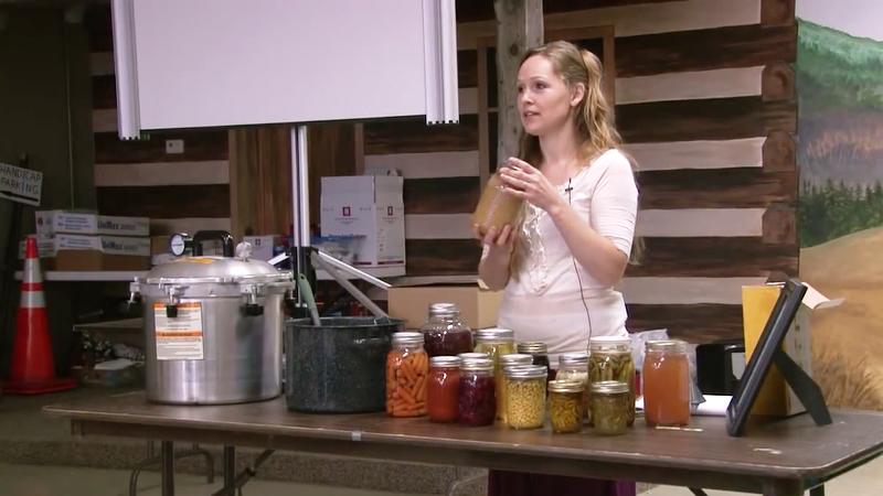 Kendra canning workshop