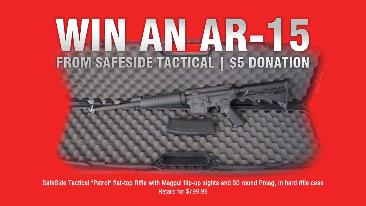 AR-15 Raffle Prize