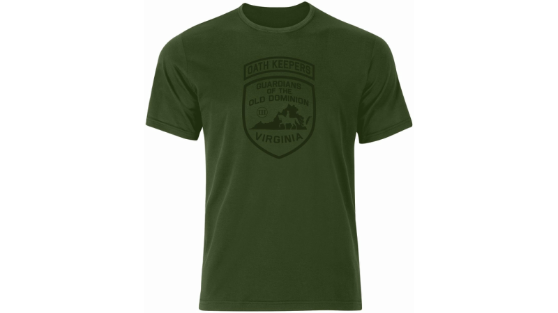 Two Virginia Oath Keepers T-shirts