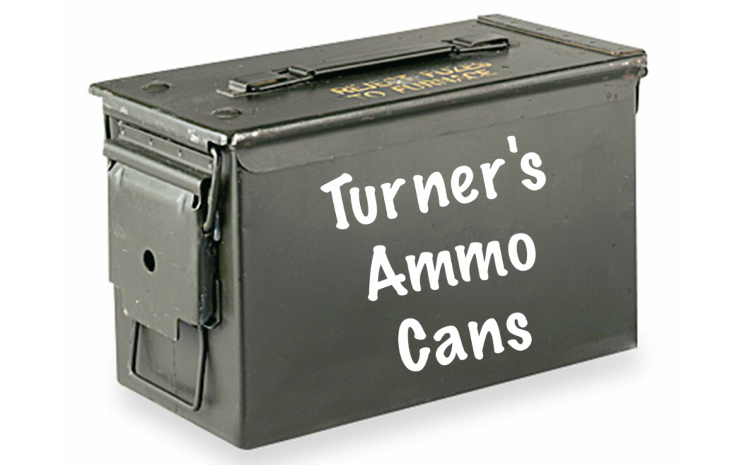 Turners ammo cans